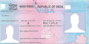 Picture of an Indian Business Visa